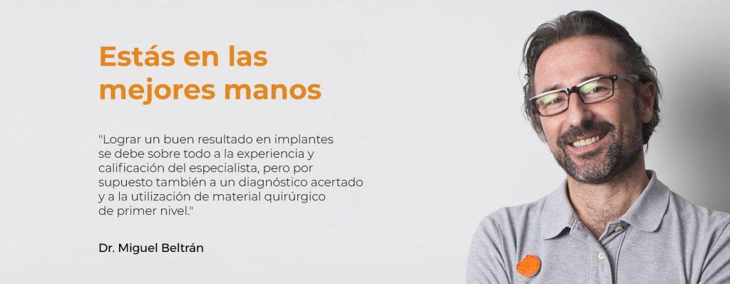 miguel beltrán: implantes thommen